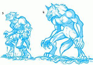 step 10 how to draw a werewolf transformation werewolf how to draw a werewolf transformation werewolf transformation