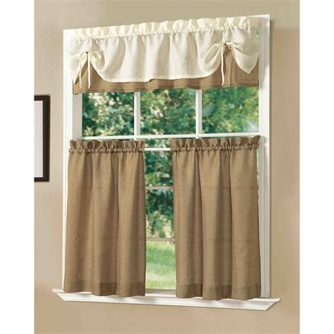 kitchen curtain set wayfair