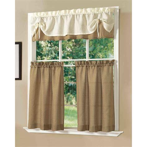 kitchen curtain set wayfair