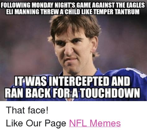 Manning Face Meme - funny eli manning memes of 2016 on sizzle football