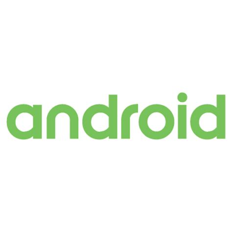 android text logos in vector format eps ai cdr svg free