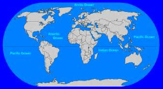 Ocean World Map by Map Of Oceans Related Keywords Amp Suggestions Map Of