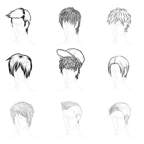 anime girl hairstyles deviantart anime hairstyles by gleaming4shadows on deviantart