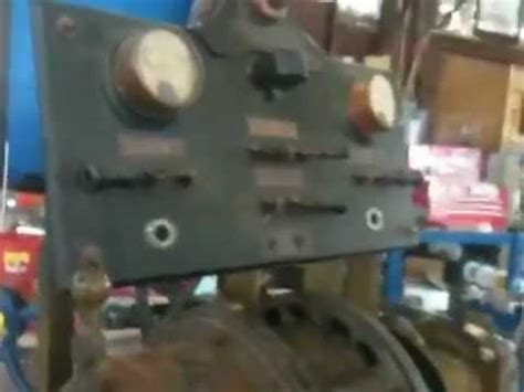 magneto test bench wiedenhoff magneto generator test bench youtube