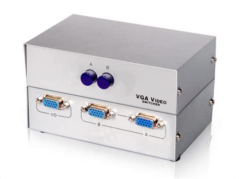 Vga Switch 2 Input 1 Output 2port Vga Switch 2 Input 1 Output Kvm Switch Vga