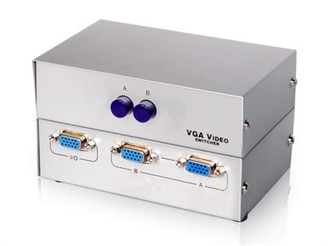 2port vga switch 2 input 1 output kvm switch vga