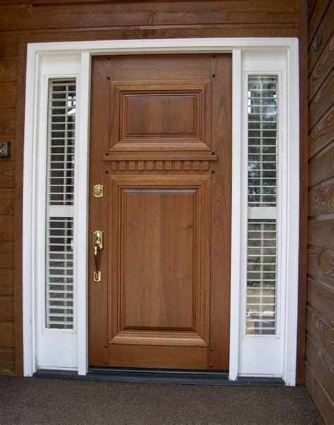 best type of exterior door best type of exterior door best type of wood for a front