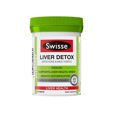 Liver Detox Fatigue by Swisse S Ultivite 50 For Health Swisse Hk