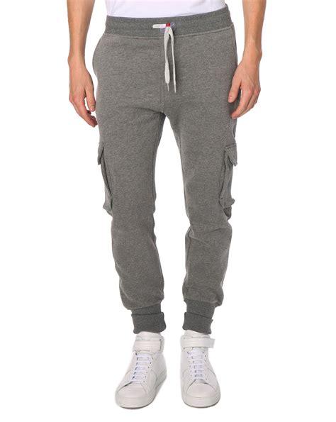 Cargo Grey sweet cargo grey marl trousers in gray for grey lyst