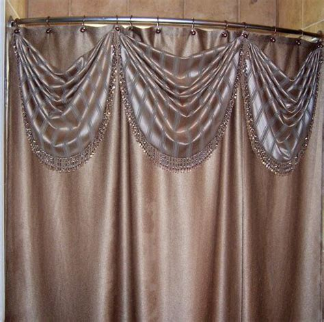 Swag Shower Curtains Designer S Workroom Custom Draperies Bedding Window Coverings Of Dallas Ft Worth Swag