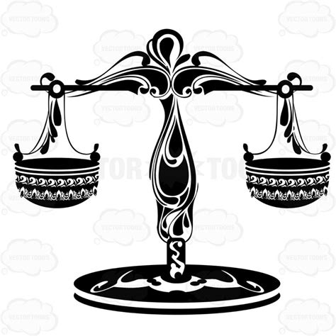 zodiac symbol for libra cartoon clipart vector toons