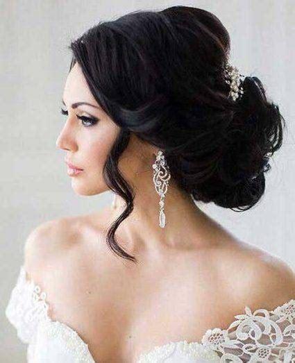 Hochzeitsfrisur Dunkle Haare by Hochzeitsfrisuren Dunkle Haare