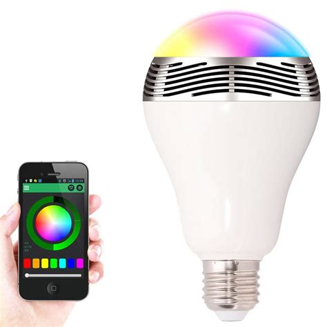 Speaker Bluetooth E27 Led Rgb Light Music Bulb L Color Wifi Led Light Bulbs