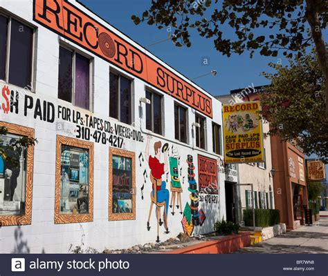 Los Angeles Records Free Vinyl Record Store Los Angeles Ca Stock Photo Royalty Free Image 31521316 Alamy