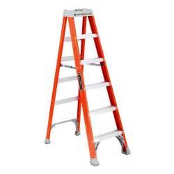 Paint tools gt step ladders gt louisville ladder fs1506 6 ft fiberglass