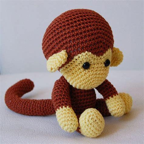 amigurumi pattern johnny the monkey amigurumi crochet monkey pattern johnny the monkey
