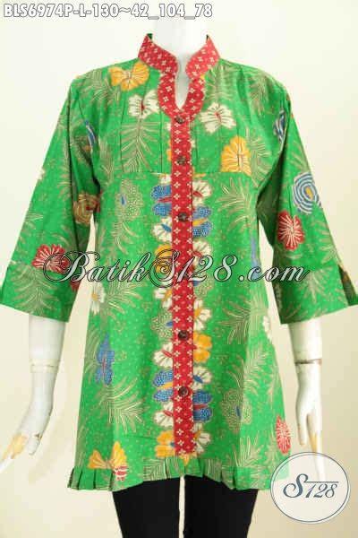 Eyeshadow Untuk Baju Hijau baju batik warna hijau blus batik khas jawa tengah untuk