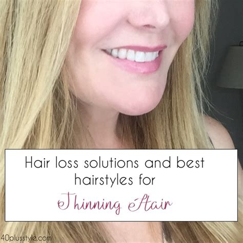 hair loss solutions   hairstyles  thinning hair