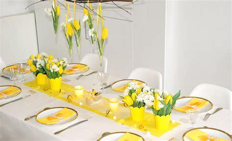 decorations de table ma boutique d 233 co table d 233 coration de table jaune