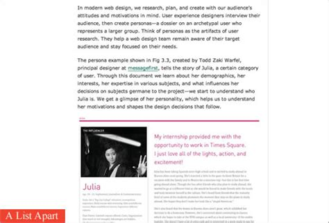 a list appart designing engaging and enjoyable long form reading experiences smashing magazine