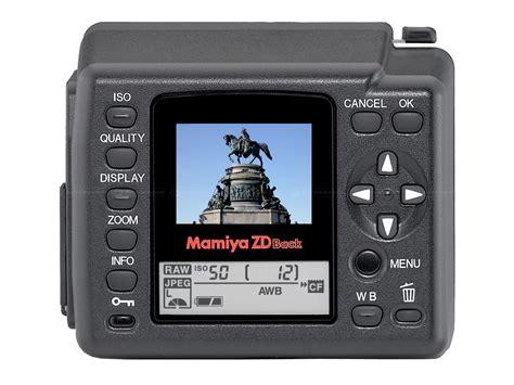 mamiya digital mamiya launches zdb digital back digital photography review