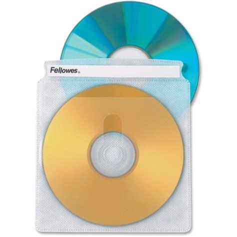 Cddvd Original Fahrenheit Two Sided fellowes 90659 sided cd dvd sleeves 50 pack plastic clear 2 cd dvd fel90659 cd dvd