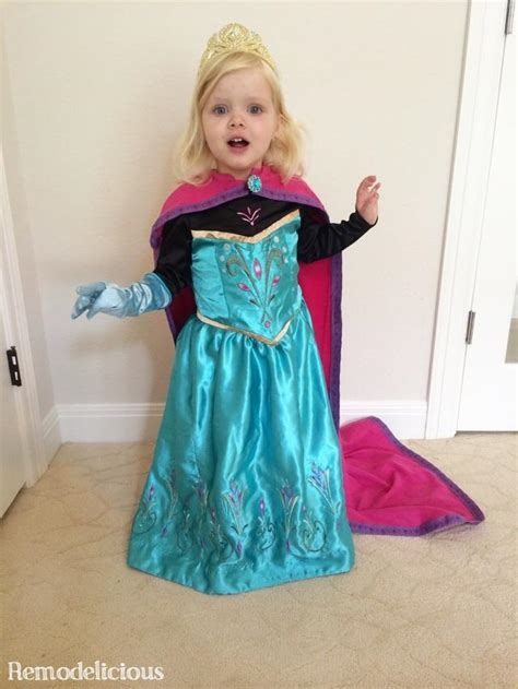Elsa Costume Handmade - whipping up a diy frozen elsa coronation costume