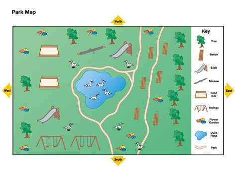 easy maps and directions simple map with key for map with map key key or