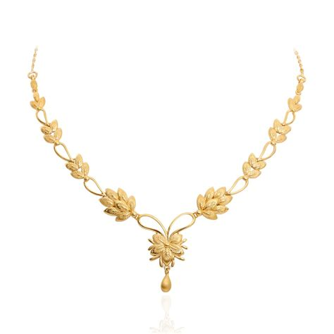 light price light weight gold necklace designs with price in rupees