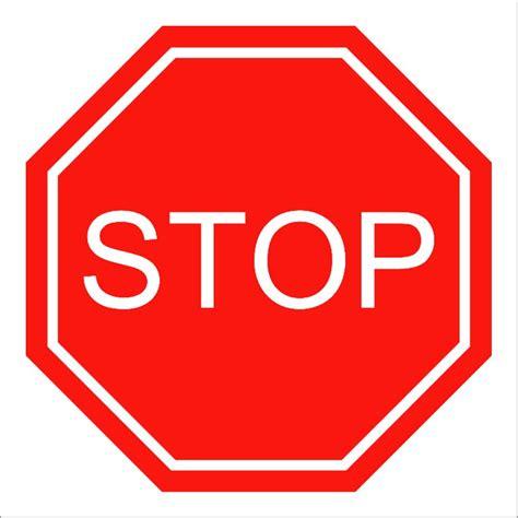 Stop X Placa De Tr 194 Nsito Stop 35 X 35 Cm Loja Das Facas Elo7