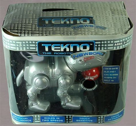 tekno newborn puppy tekno the robotic puppy the robot s web site