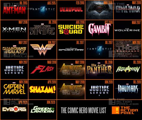 film marvel dc 2016 image gallery marvel movies 2016