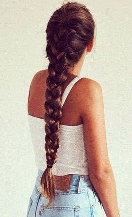 thick braid extensions hair idea 1 maybe with extensions for thickness or
