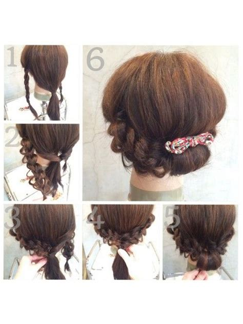 Handmade Hair Style - 134 best images about 爭ー 站 ス hair tutorials站 ス 爨も ー on