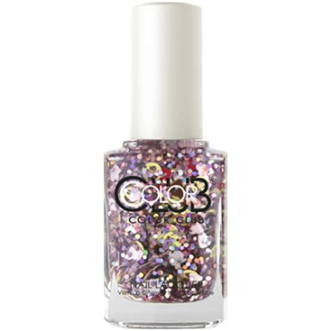color club holographic nail color club nailmoji holographic glitter nail