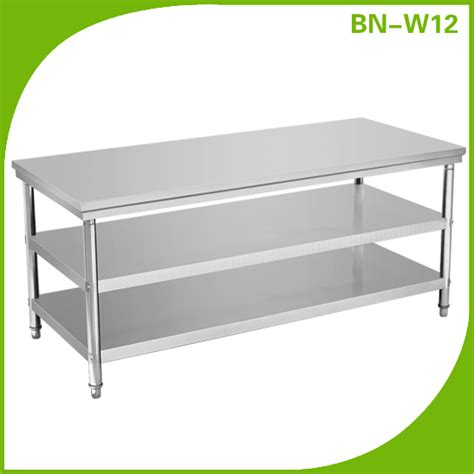commercial kitchen stainless steel work table bn w09 view