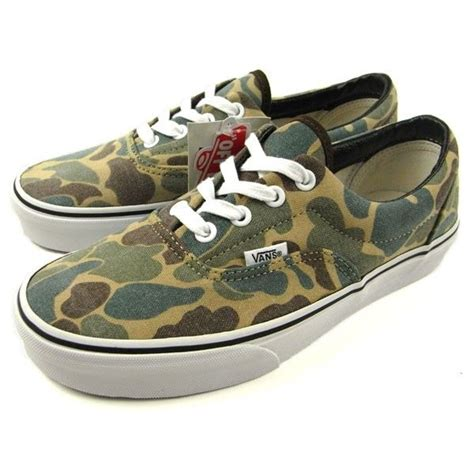 Sneakers Motif Army Gotrack Camo Green vans classic era army green camouflage canvas doren