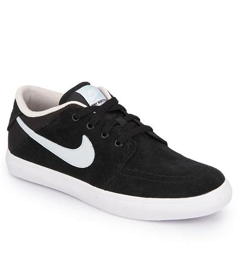 buy nike black casual shoes for snapdeal