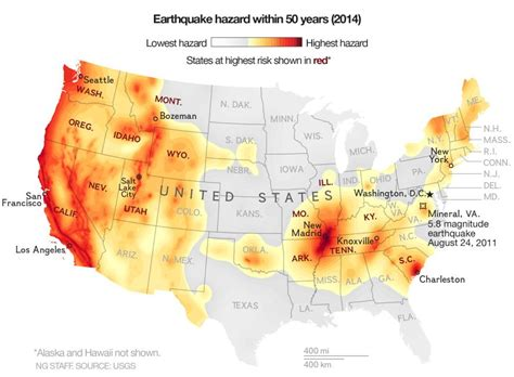 earthquake zones usa the big one is not just a west coast problem lewrockwell