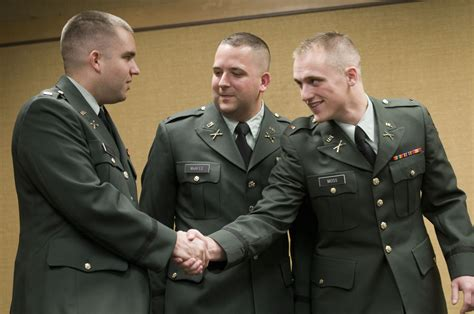 How To Become An Officer In The Army by Three Spartans Begin Careers As Army Officers Msutoday