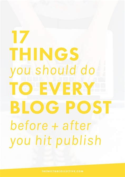 12 Things You Should Do Before You Hit 25 by 17 Things You Should Do To Every Post Before After