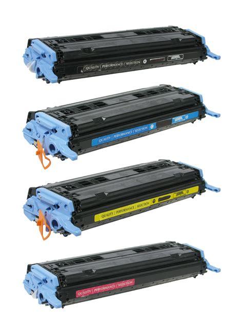 Toner Q6000a q6000a q6001a bcmy toner cartridge for hp color laserjet
