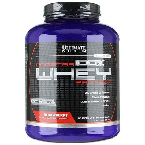Ultimate Nutrition Prostar Whey Protein Ultimate Nutrition Prostar 100 Whey Protein Strawberry