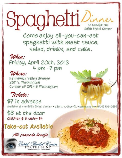 40 Best Images About Spaghetti Dinner Fundraiser Ideas On Pinterest See Best Ideas About Pizza Spaghetti Dinner Fundraiser Flyer Template