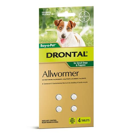 wormers drontal dogs drontal all wormer tablets for small dogs puppies 4pk petbarn