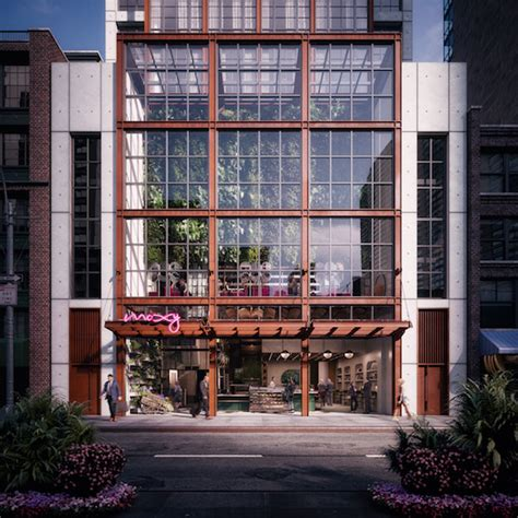 Moxy Garden by Moxy Chelsea To Open This Fall In Chesea S Flower District