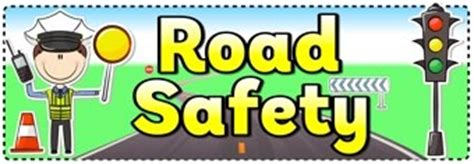 printable road for display road safety banner teaching ideas