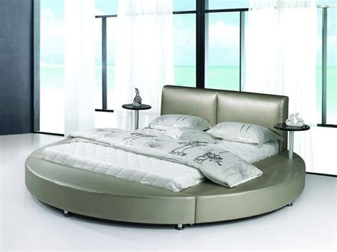 circular mattress china round bed 9113 china mattress leather bed