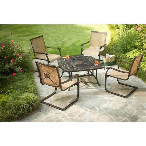 Fire Pit Set Upc 885653000030 Martha Stewart Living Outdoor Pits