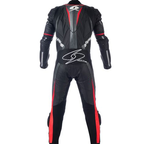 motorcycle suit mens spyke mix kangaroo leather motorcycle suits for men mix